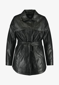 MS Mode - Faux leather jacket - black - 5