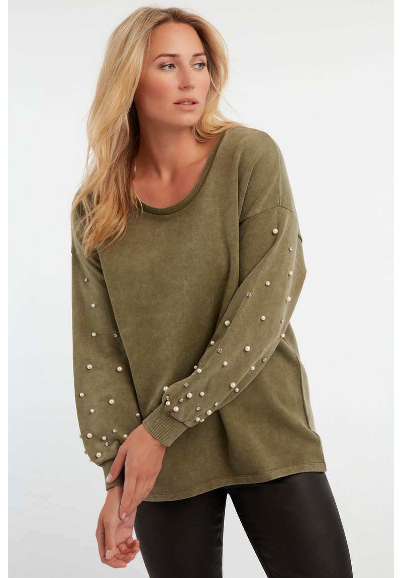 MS Mode - Pullover - green