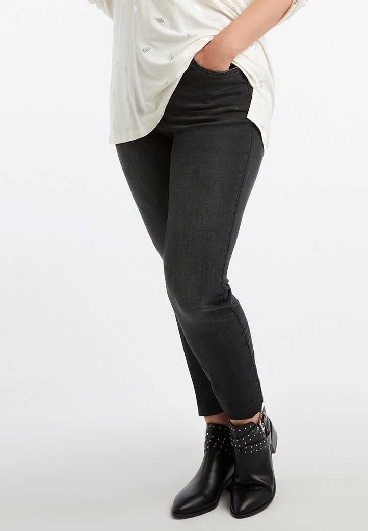 MS Mode - CHERRY  - Jeans Skinny Fit - black