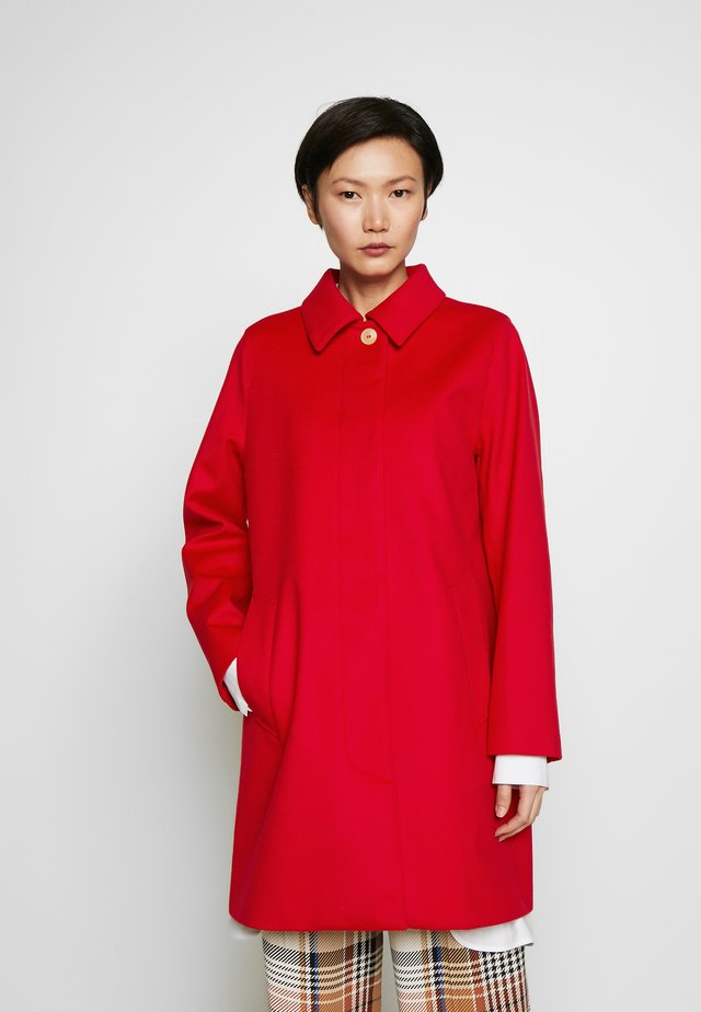 DUNOON - Cappotto classico - scarlet