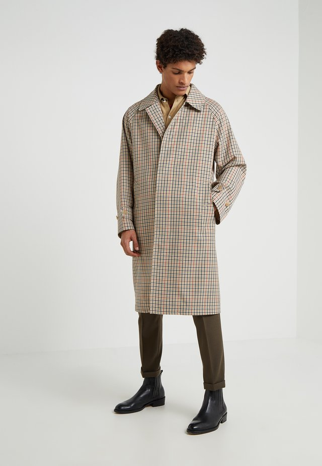 GENTS  - Classic coat - brown/navy