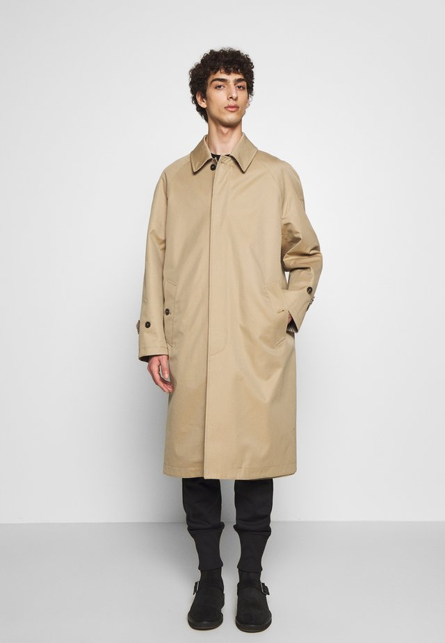 THUSTER - Classic coat - honey