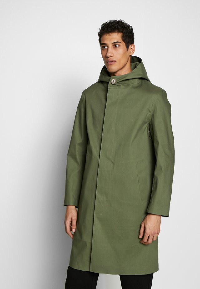 CHRYSTON  - Classic coat - mottled olive
