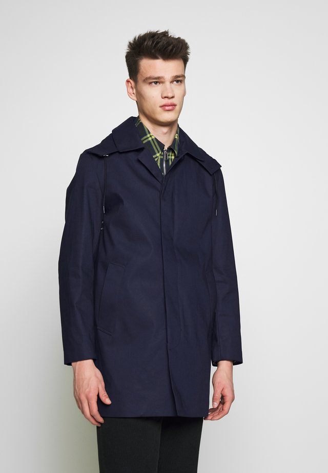 DUNOON HOOD - Short coat - navy
