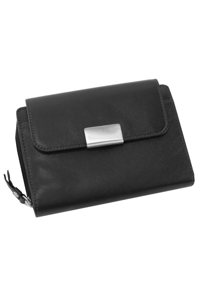 HELENA - Wallet - schwarz/rot