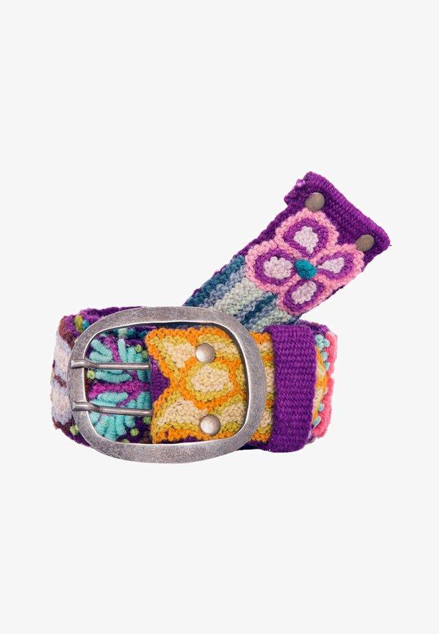 FLORCITA - Belt - purple