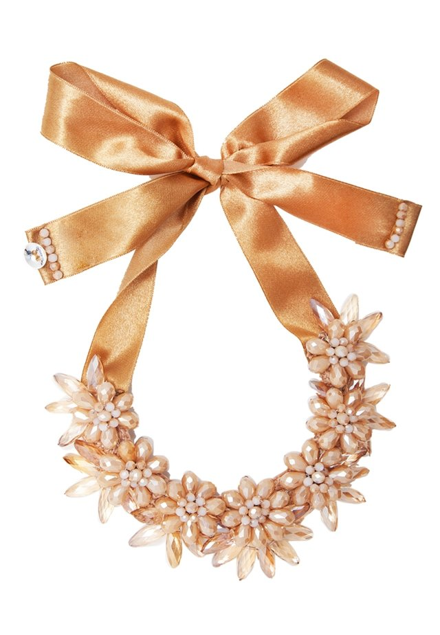 Necklace - caramel dust