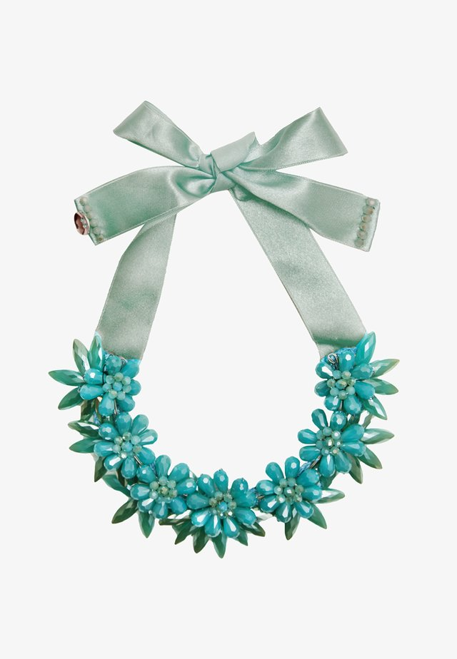 Necklace - aqua