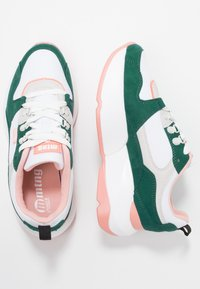 mtng - Trainers - soft verde/suprima blanco/soft coral - 3