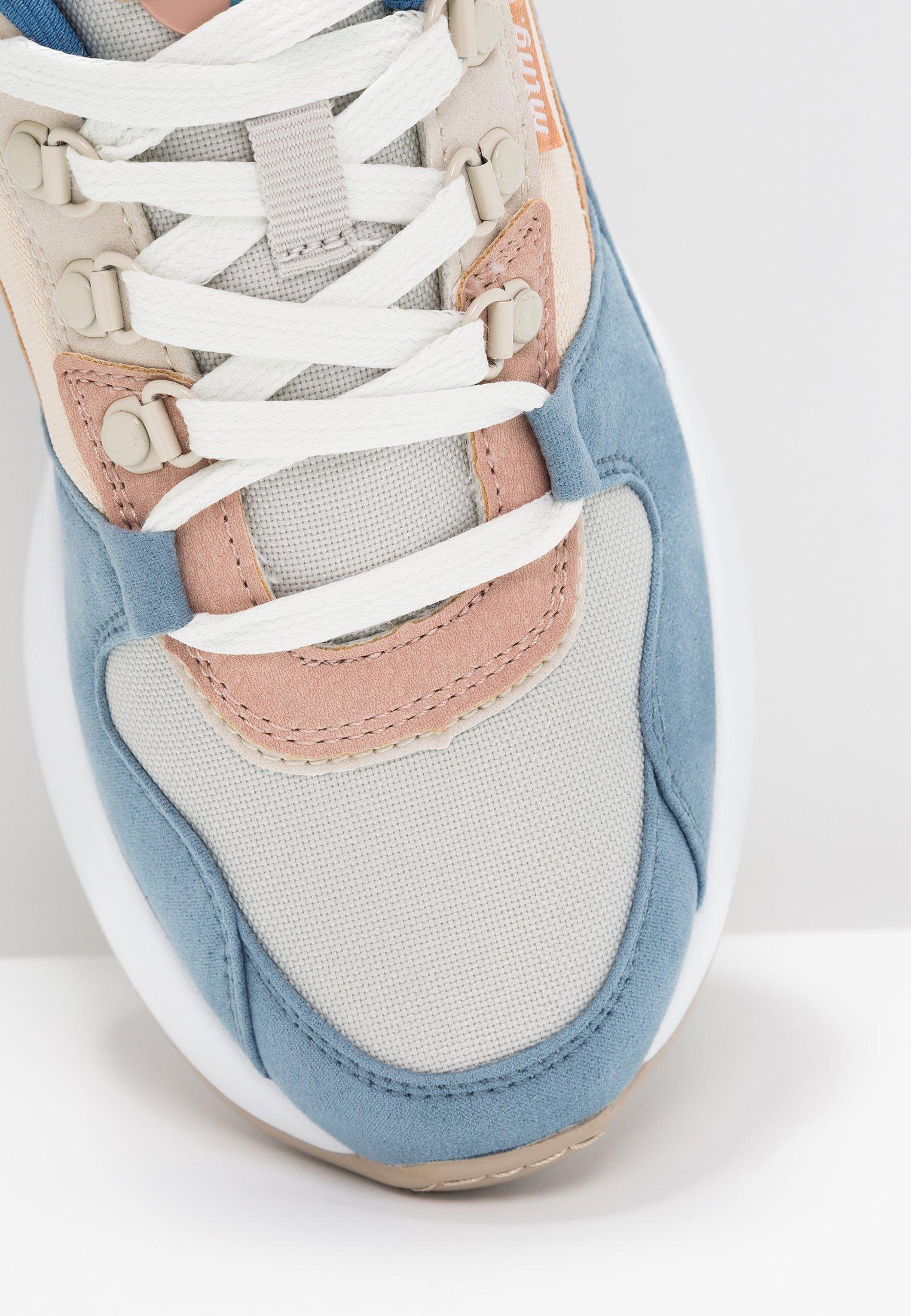 mtng Sneakersy niskie - soft petroleo/suprima gris/claro yoda rosa