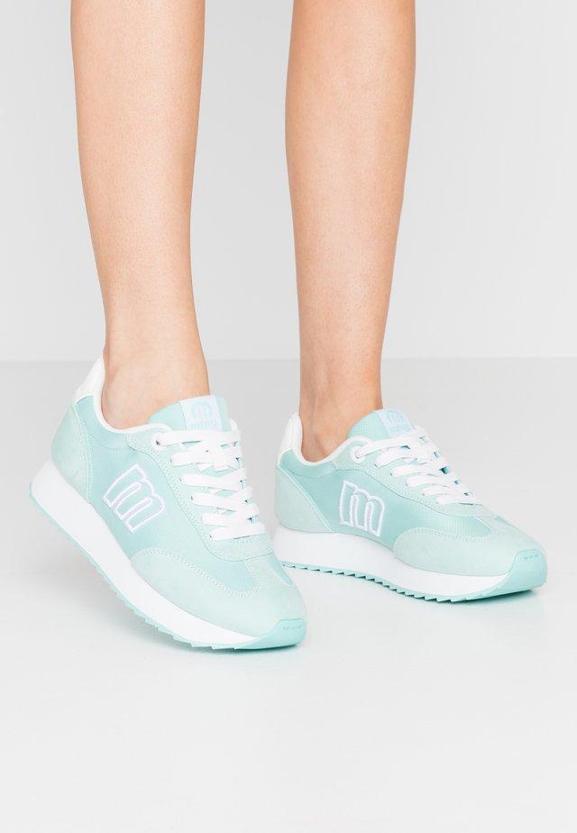 NORA  - Sneaker low - soft aguamarina