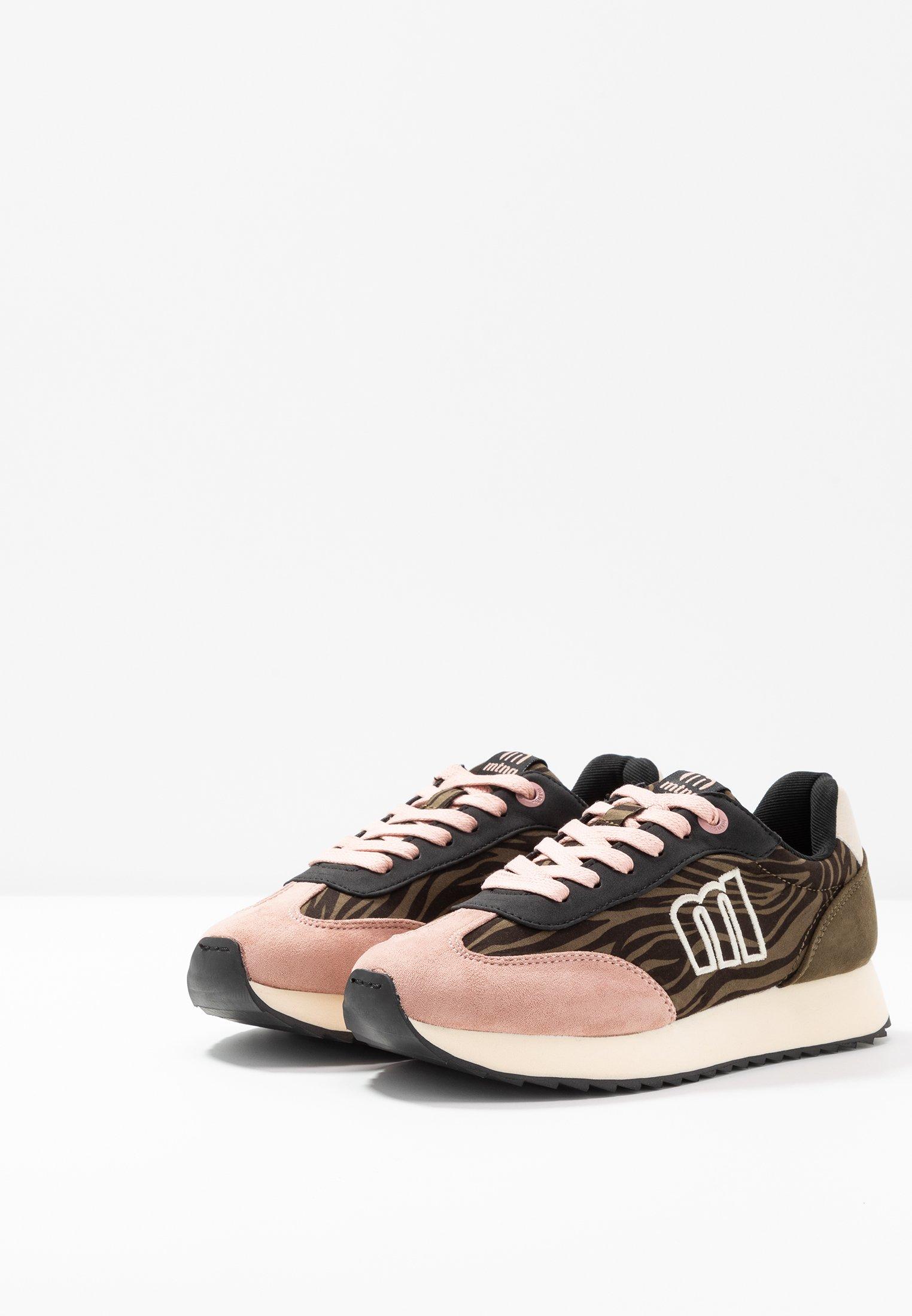 Natural NoraSneakers Basse Rosa Soft kaky Mtng yoda TKcJFl13