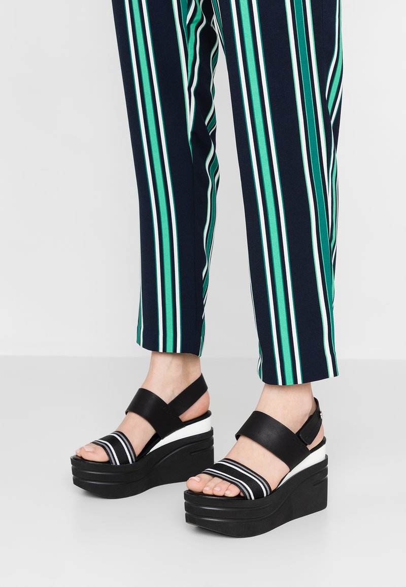 mtng - High heeled sandals - black