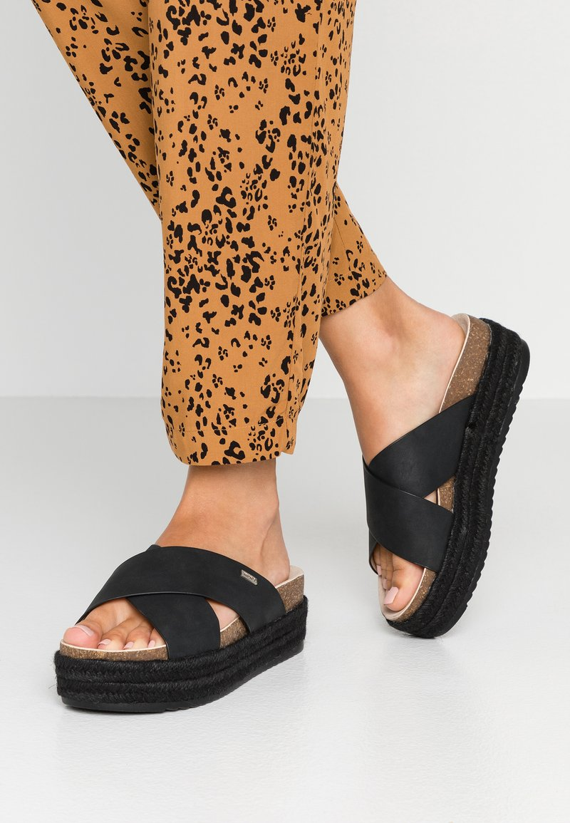 mtng - Heeled mules - black