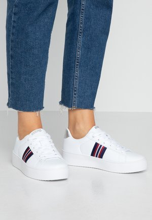 YAKY - Sneakers basse - blanco/metal plata