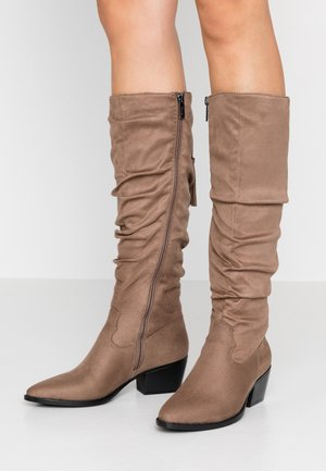 NEW OEST - Bottes - antil taupe