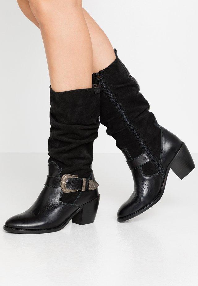 ANTARTICA - Cowboy/Biker boots - black