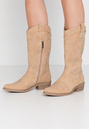 ANUBIS - Cowboy/Biker boots - taupe
