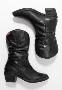 mtng - TEO - Stivali texani / biker - black - 3