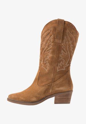 TEO - Cowboystøvler - tan