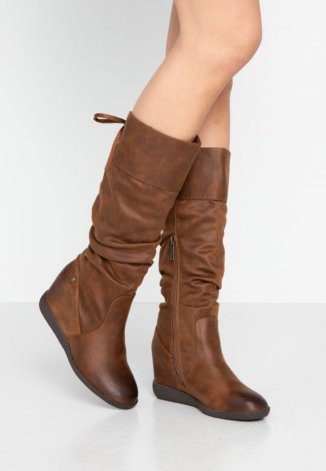 NEW KONG - High heeled boots - karma