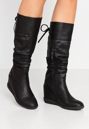 NEW KONG - Højhælede støvler - karma