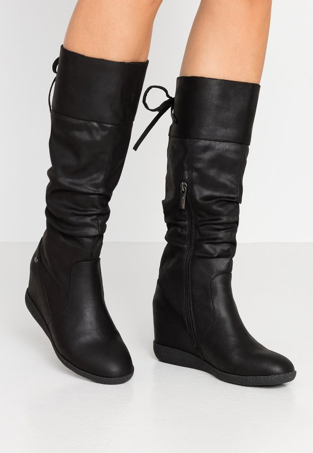 NEW KONG - High heeled boots - karma