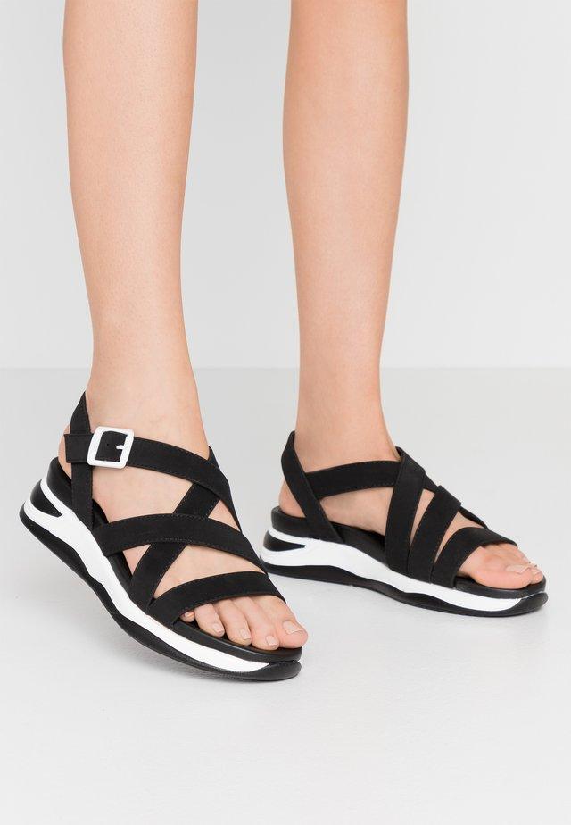 KYOTO - Platform sandals - black