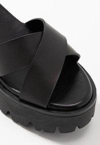 mtng - SABA - Sandaler med høye hæler - black - 2