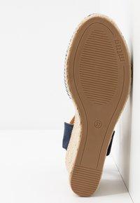 mtng - NEW PALMER - Sandály na vysokém podpatku - marino - 6