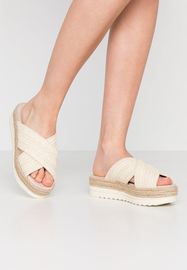 SELLA - Sandaler - white/blanco