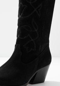mtng - CENTA - Cowboy/Biker boots - black - 2