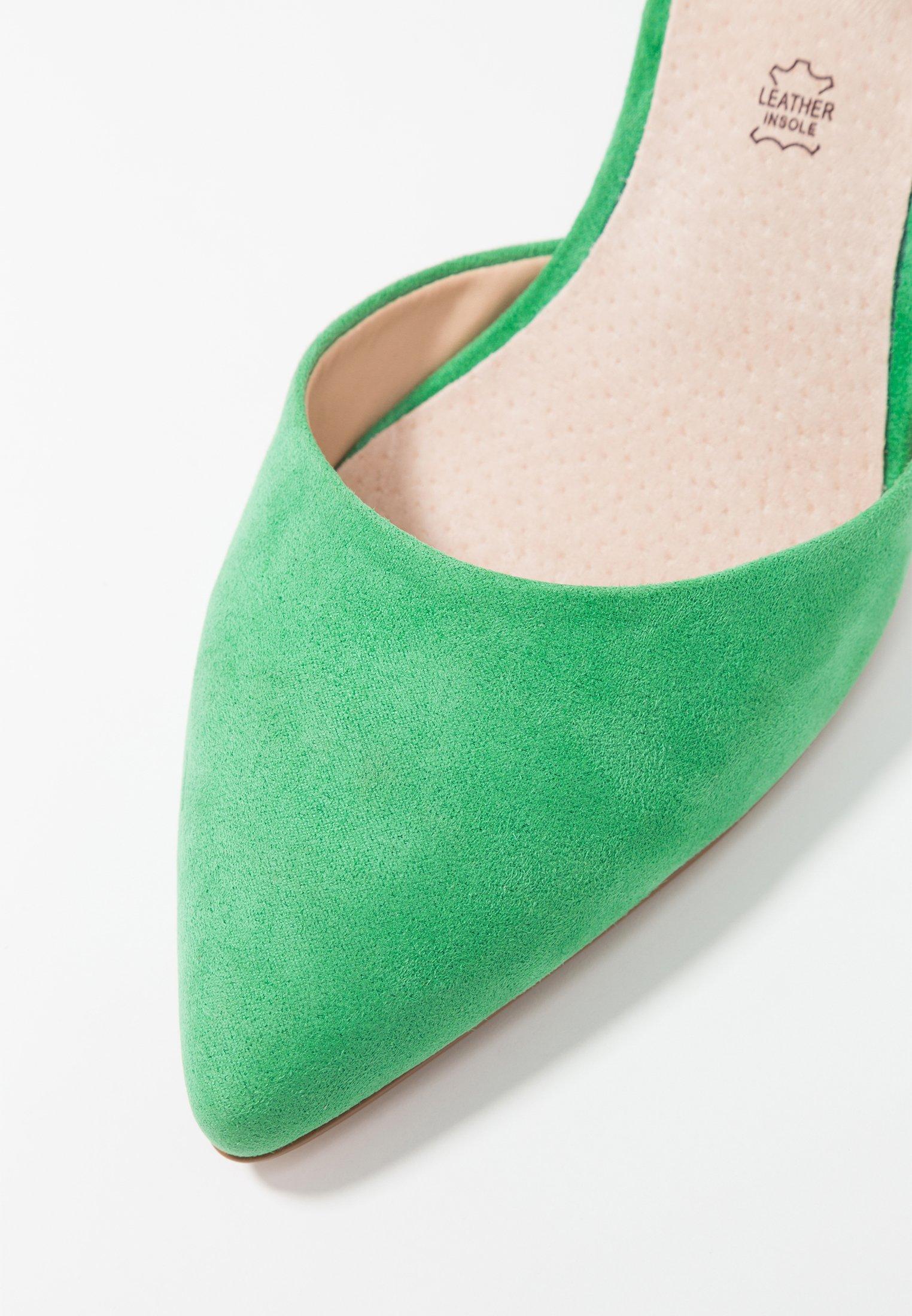 mtng Escarpins antil green