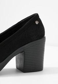 mtng - VICKY - Platform heels - black - 2