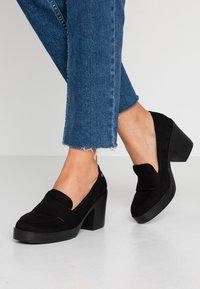 mtng - VICKY - Platform heels - black - 0