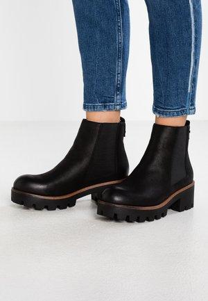 SAURO - Boots à talons - karma black