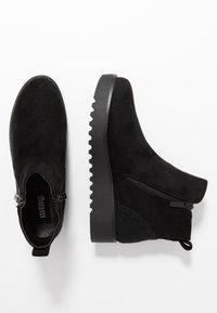 mtng - NEW SCHOOL - Korte laarzen - black - 3