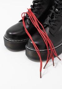 mtng - STORM - Kotníkové boty na platformě - polly/muliticolor - 7