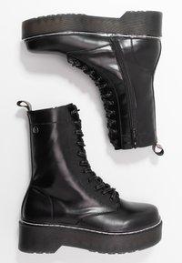 mtng - STORM - Kotníkové boty na platformě - polly/muliticolor - 3