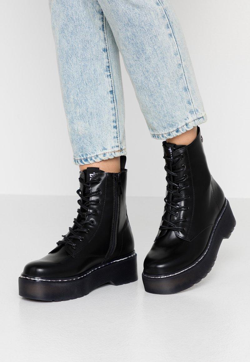 mtng - STORM - Platform ankle boots - antick