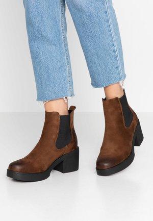 ERIS - Ankle boots - moka
