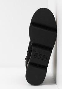 mtng - ARES - Kotníkové boty na platformě - black - 6