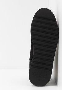 mtng - HIGH SCHOOL - Kotníkové boty na platformě - black - 6