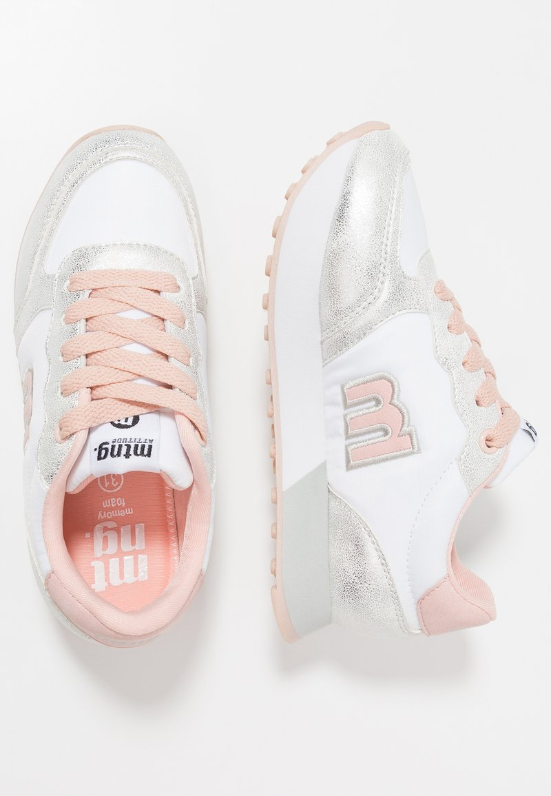 mtng - TOKIO - Sneaker low - plata/blanco/nude
