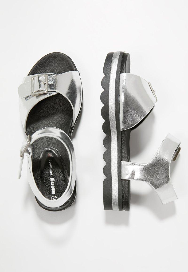 mtng - CANDY - Sandaler - mirrore plata
