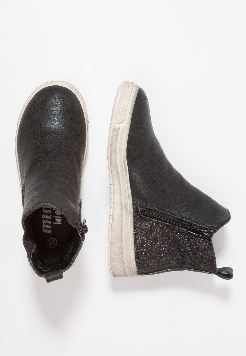 mtng - ISA - Støvletter - black glitter/jin black