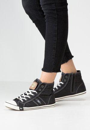 Sneakers high - schwarz