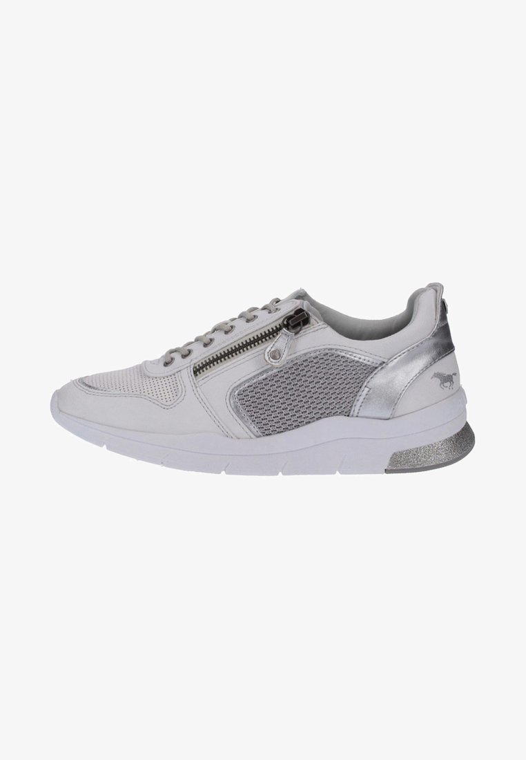 Mustang - Trainers - white/silver