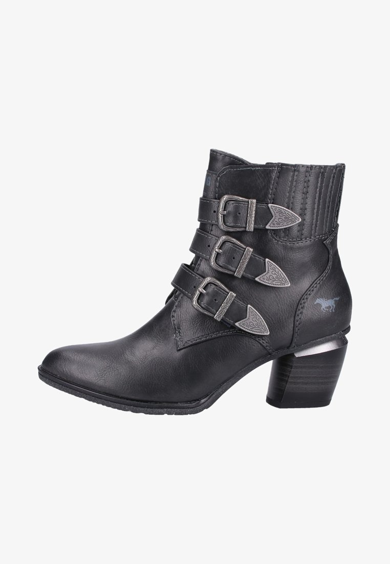 Mustang - Boots à talons - grey
