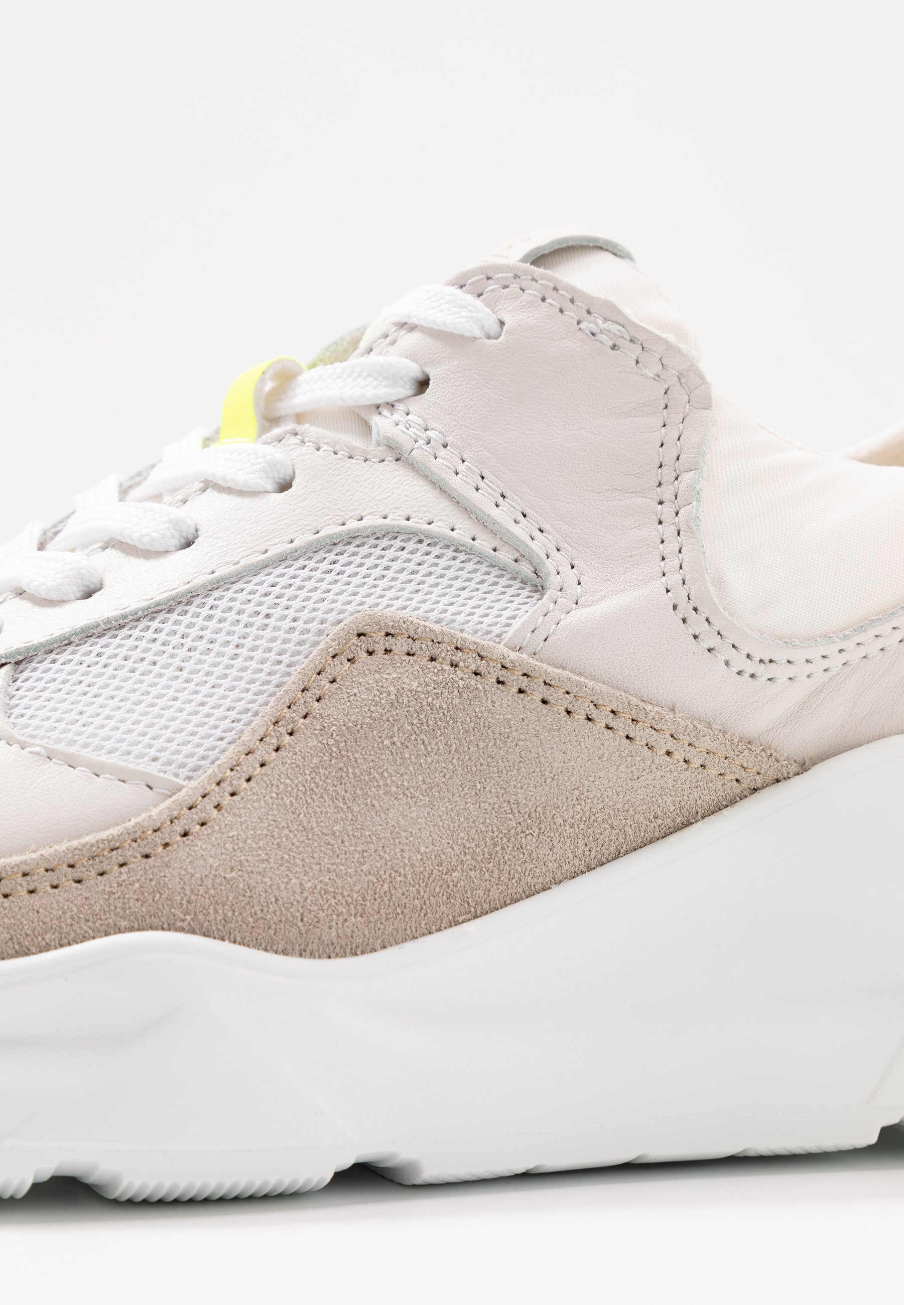 Mustang Sneakers - weiß/beige